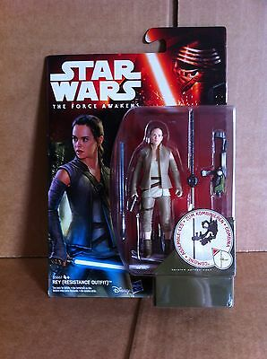 "Star Wars Force Awakens - 3.75"" Rey Action Figure (Resistance Outfit)"