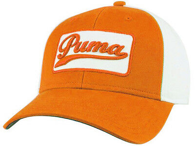 Puma Greenkeeper Adjustable Cap Orange