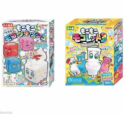 HEART FROTHY WASHING MACHINE & TOILET DIY Japanese Candy Kits like Popin Cookin