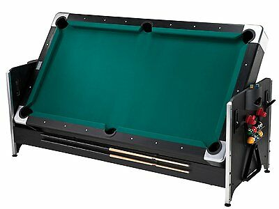 Fat Cat Original 2-in-1, 7-Foot Pockey Game Table Billiards and Air Hockey