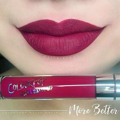 ColourPop Ultra Matte Lip liquid Lipstick MORE BETTER Colour Pop NIB ORIGINAL!