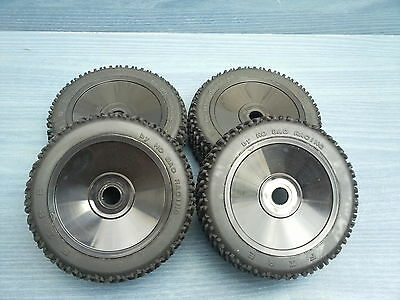 NITRO 1/8 RC BUGGY HYPER 7 TQ2 RACING SET OF 4 OFFROAD WHEELS 17mm HEX FIT NEW