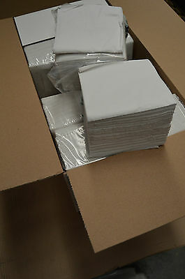 5000 White Napkins 1PLY Serviettes Tissue Takeaway Restaurant Wholesale Catering
