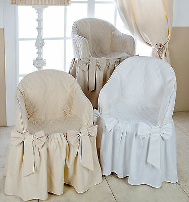 Vestisedia Garden Blanc Mariclo Shabby Chic Colore Bianco Basic Collection