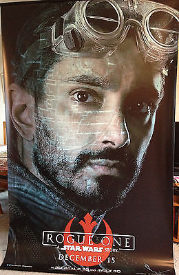 Cinema Banner: ROGUE ONE A STAR WARS STORY 2016 (Bodhi Rook) Riz Ahmed