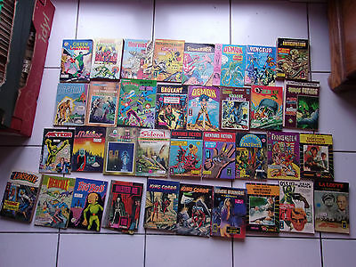 gros lot 35 bd petits formats (Aredit...) Frankenstein, Sideral, Meteor, Cosmos