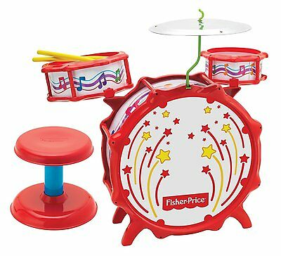 Fisher Price Music Big Bang Drumset with Lights #7BV