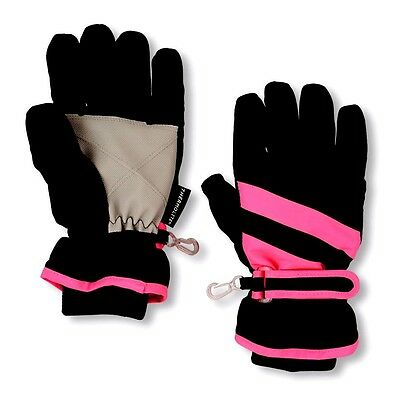 TCP Baby Girl Winter Ski Snow Mittens Water Resistant Thermolite Pink 12-24M