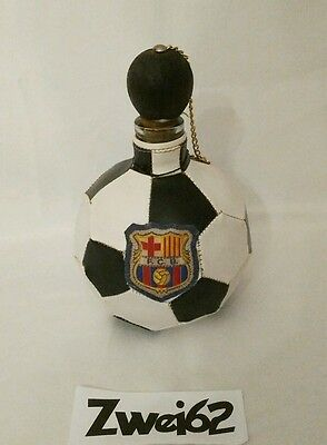 BOUTEILLE BALLON FOOTBALL FC BARCELONE Vintage 1980