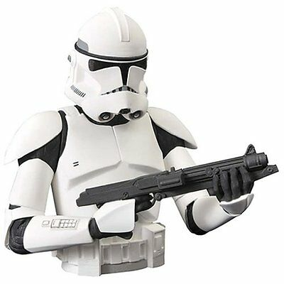 Star Wars Clone Trooper Bust Bank