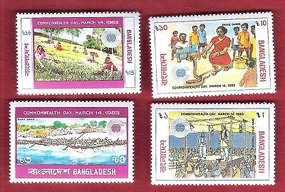 Bangladesch  (2912) Commonwealth Day 1983  Postfrisch ** Mnh