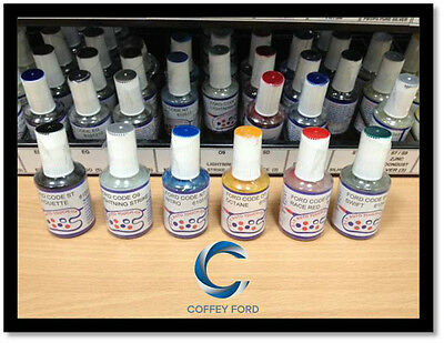 Ford Touch Up Paint. Falcon/Territory/Fiesta/Focus/Ranger/Mustang. 15ml Bottle.