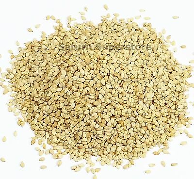 SESAME SEEDS - Natural hulled Premium Quality Whole Seeds
