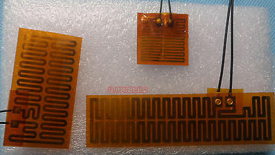 Kapton Flexible Heater Assorted Evaluation Kit 3 Sizes