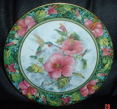 Franklin Mint Collectors Plate THE IMPERIAL HUMMINGBIRD