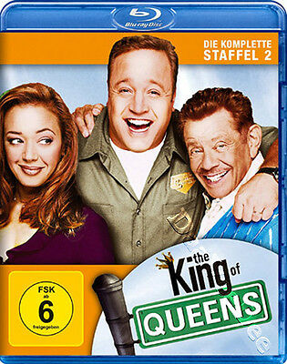 The King of Queens (Complete Season 2) NEW Blu-Ray 2-Disc Set K. James L. Remini