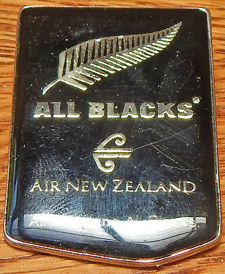 ALL BLACKS Rugby Airline Cabin CREW Badge Air NEW ZEALAND Flight attendant's PIN