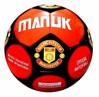 Manchester United Football FIFA Specified Match Ball Soccer Ball Size 5, 4, 3