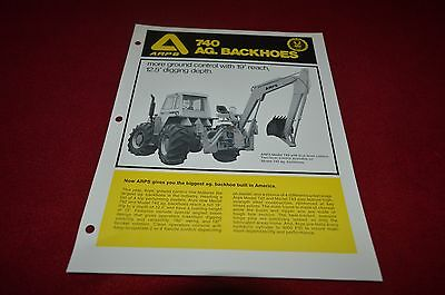 Allis Chalmers Lawn /& Garden Snow Remova Guide For 1979 Dealers Brochure YABE11