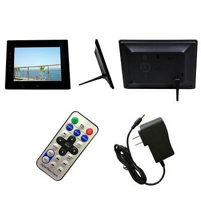 7inch HD LCD Digital Photo Frame with Alarm Clock Slideshow MP3/4 Player