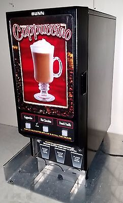 BUNN FMD-3 Capuccino / Espresso / Latte Machine 3-Flavor 3-Dispenser