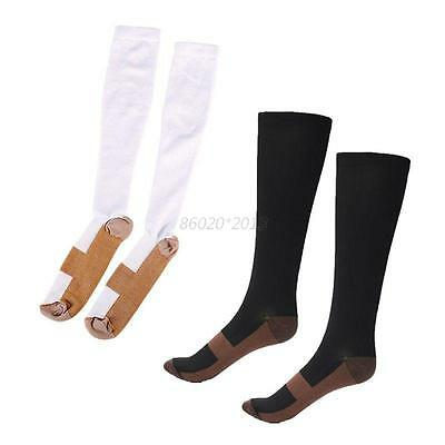 Useful Unisex Compression High Socks Anti Fatigue Stocking Support Relief Socks