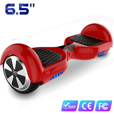 "6,5""Cool&Fun Bluetooth Patinete Eléctrico overboard Scooter self balancing mando"