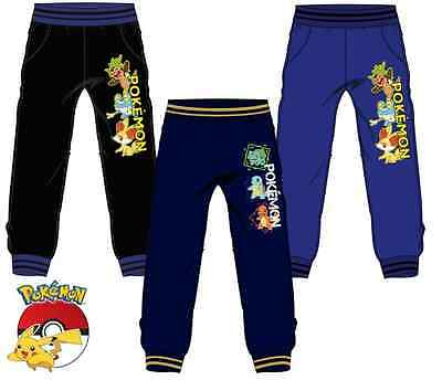 New boys licensed Pokemon jogging pants tracksuit bottom joggers 4-12 years bnwt