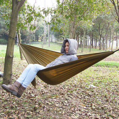Parachute Nylon Fabric Hammock For 2 Person Travel Camping Outdoor 270x140cm