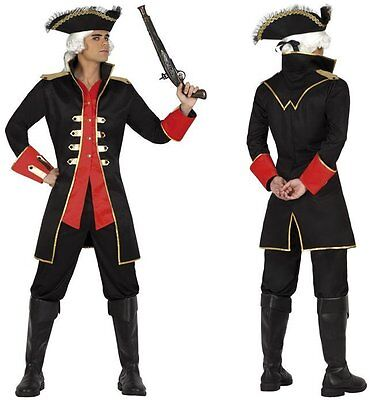Déguisement Homme Capitaine Pirate M/L Costume Adulte