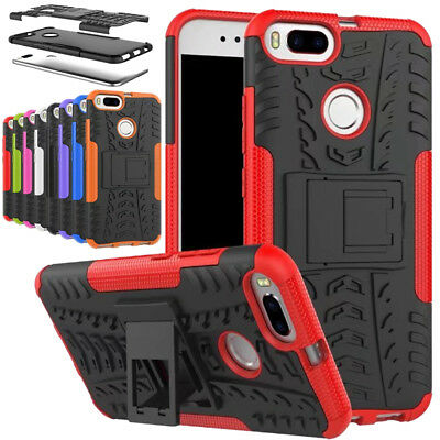 Hybrid Armor Shockproof Heavy Duty Stand Hard Case Cover For XIAOMI RedMi Phones