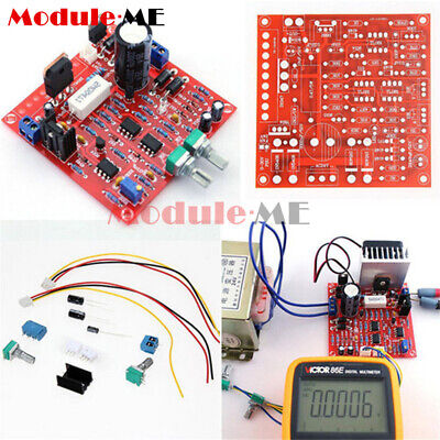 0-30V 2mA-3A Adjustable DC Regulated Power Supply DIY Kit Short w/ Protection MO