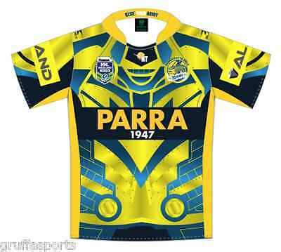 Parramatta Eels 2017 9's Jersey Mens & Kids Sizes NRL Auckland Nines In Stock!