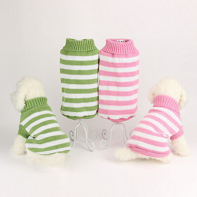 Pet Dog Warm Clothes Puppy Cat Shirt Winter Sweater Apparel Jacket Coat Costume