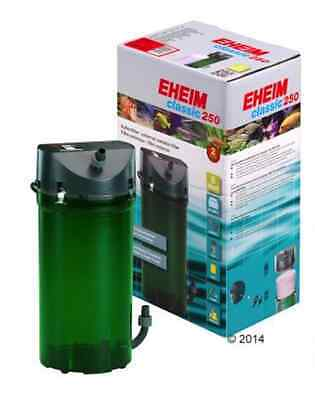 Eheim Classic 250 External Filter Aquarium Fish Tank Canister Up To 250 Litres