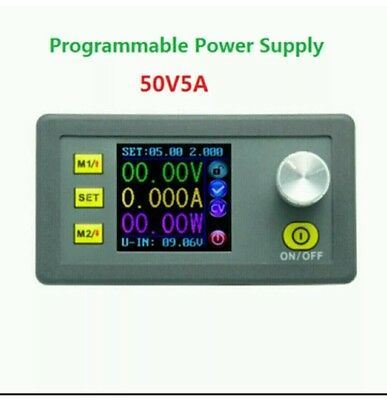 DP50V5A Buck Adjustable DC Power Supply Module With Integrated Voltmeter Ammeter