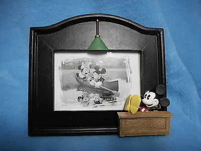 DISNEY STORE Mickey Mouse EXECUTIVE OFFICE Picture Frame MINT in BOX