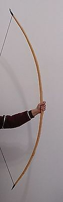 "FLAGELLA DEI YEW MADE TRADITIONAL ENGLISH ""D"" LONGBOW 74"" 47 lbs READY TO SHIP"