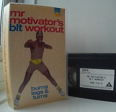 Mr Motivator - Mr Motivator's BLT Workout - Bums Legs & Tums VHS Video