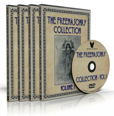THE FREEMASONRY COLLECTION 1163 books + 559 images 4 DVD set MASONIC LIBRARY