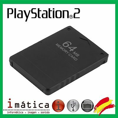 Memory Card 64 Mb Ps2 Sony Playstation 2 Tarjeta De Memoria Play Station 64Mb