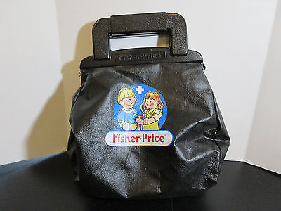 RARE Fisher Price 1987 Pretend  Medical Kit BAG