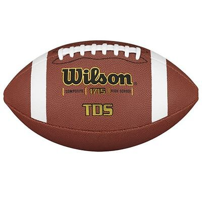 Wilson TDS NFHS Composite Leather Football - WTF1715.
