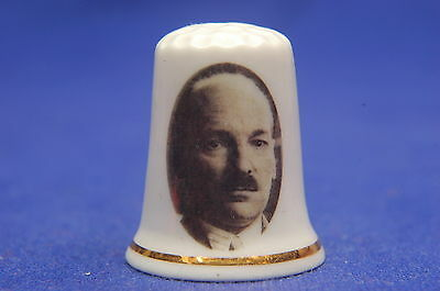 Clement Attlee 1945-1951 China Thimble B/173
