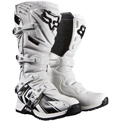 NEW Fox Comp 5 Undertow Boots White from Moto Heaven