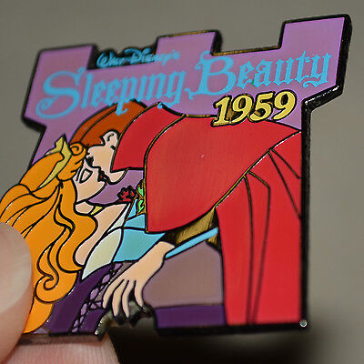 Disney Sleeping Beauty Countdown To The Millennium 1959 Pin Pinback