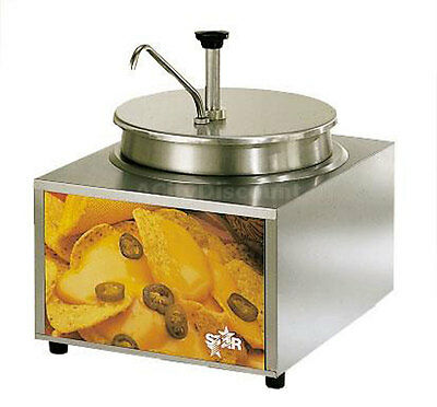 Star 11 Qt. Countertop Heated Warmer W/ Condiment Pump - 11Wla-P