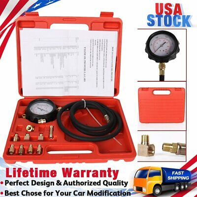 AT Car Automatic Transmission & Engine Oil Pressure Tester Gauge Diagnostic Tool