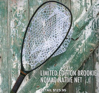 Fishpond Limited Edition Brookie Nomad Native Landing Fishing Net Brook Trout