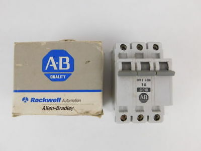 Allen-Bradley 3-Pole, 1 Amp, 480V Circuit Breaker 1492-CB3G010 - NEW Surplus!